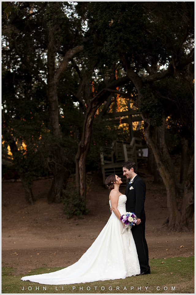 Kiss, wedding photos from Calamigos Ranch 02