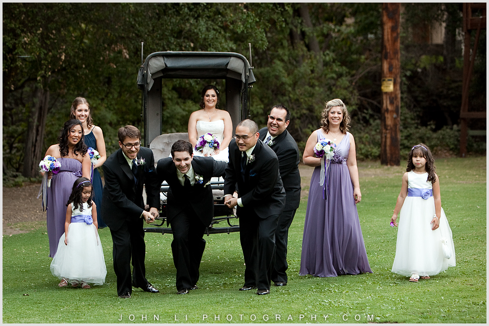 Calamigos Ranch Bridal party Portrait