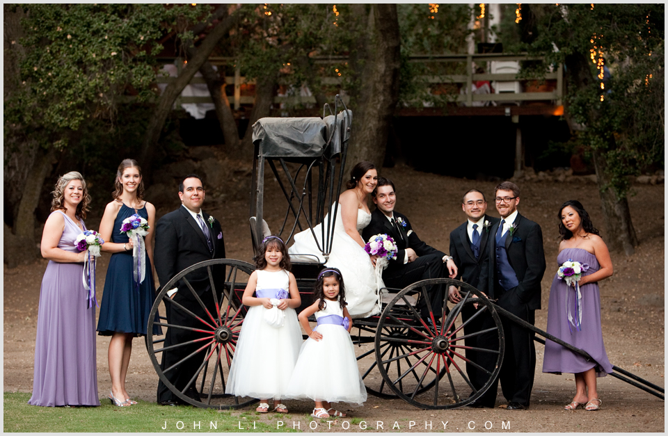 Malibu wedding photography Calamigos Ranch Bridal party Portrait
