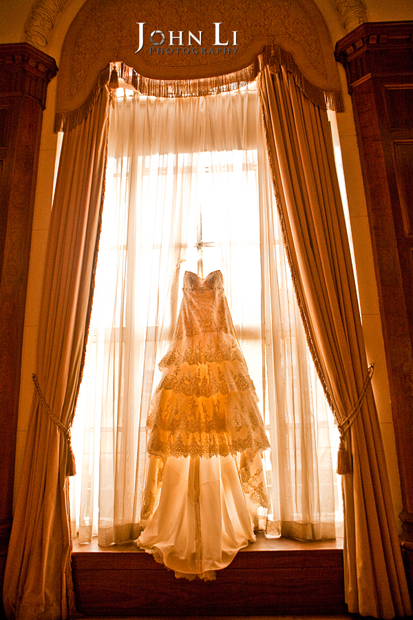 Park Plaza Los Angeles wedding dress
