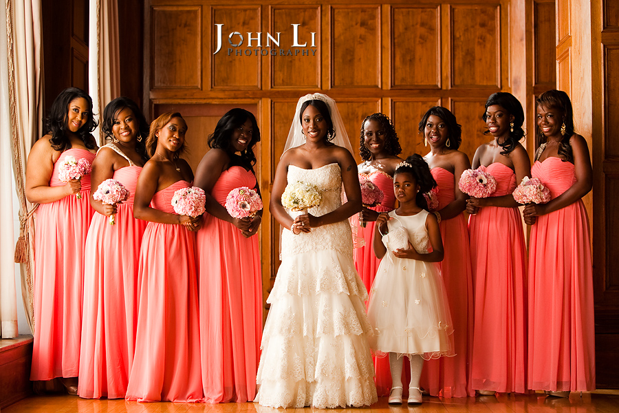 Bridal Party Park Plaza wedding