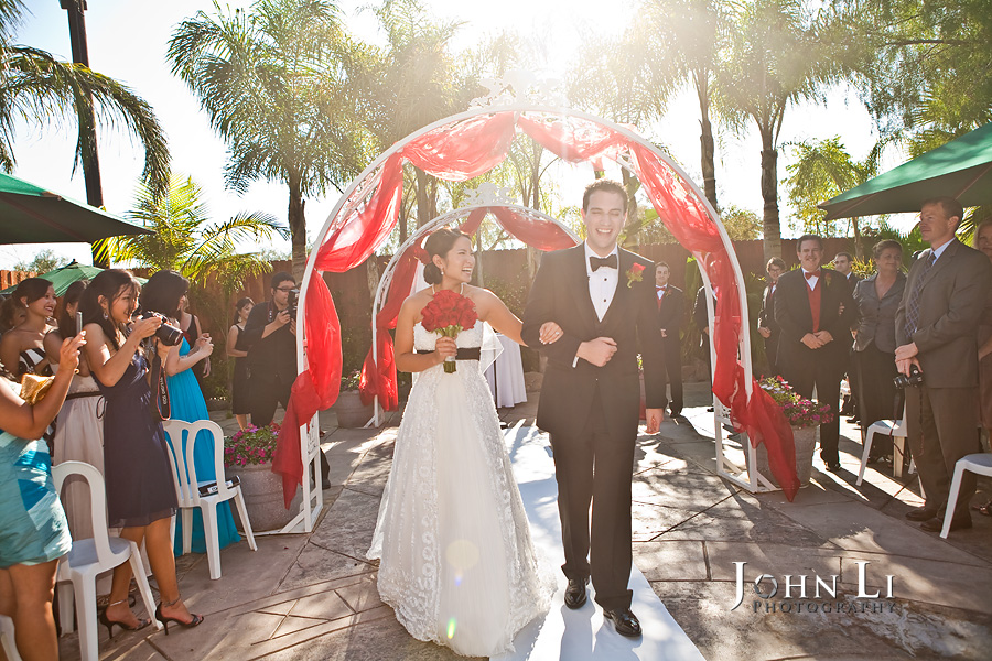 Rancho De Las Palmas wedding ceremony site