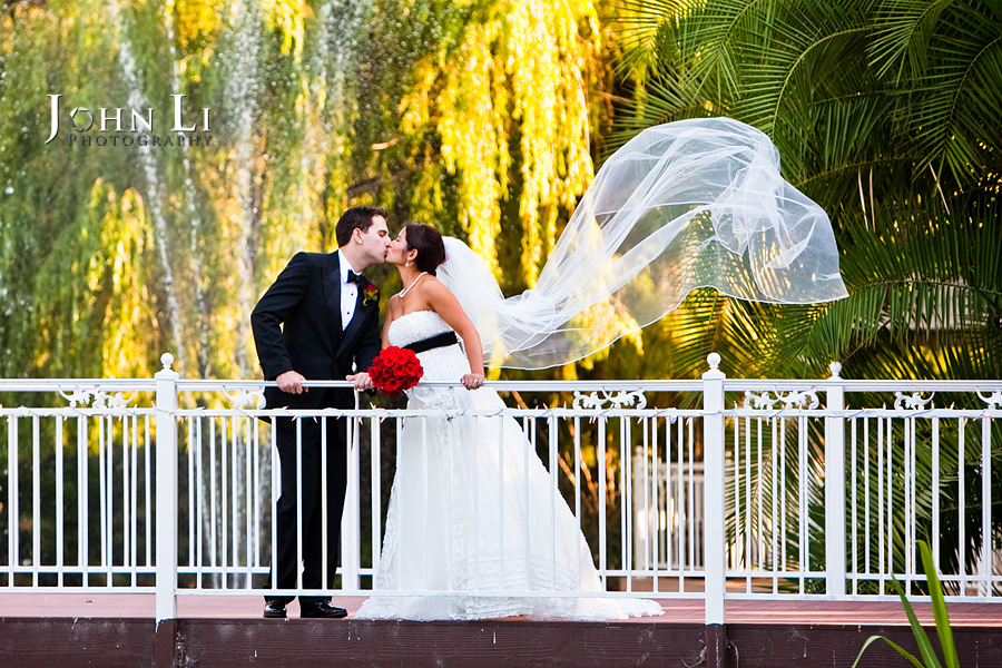 Rancho De Las Palmas wedding photo location