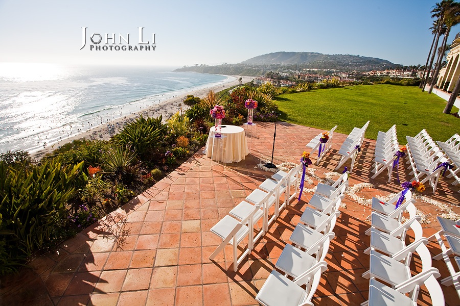 Ritz Carlton Hotel wedding ceremony location