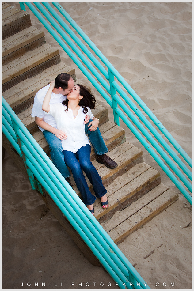 engagement images in Manhattan Beach