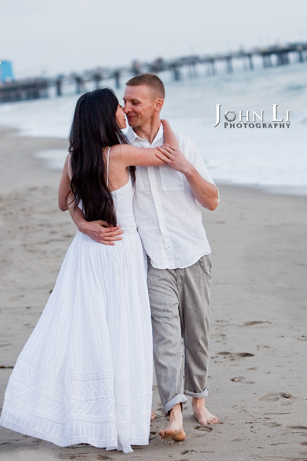Engagement-images-santa-monica-beach-