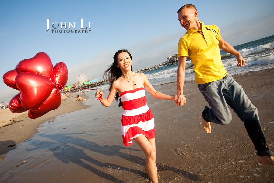 Engagement-in-Santa-Monica-Beach