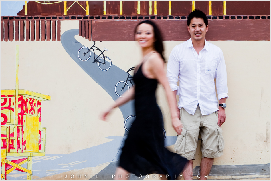 engagement by Santa Monica wedding photographer