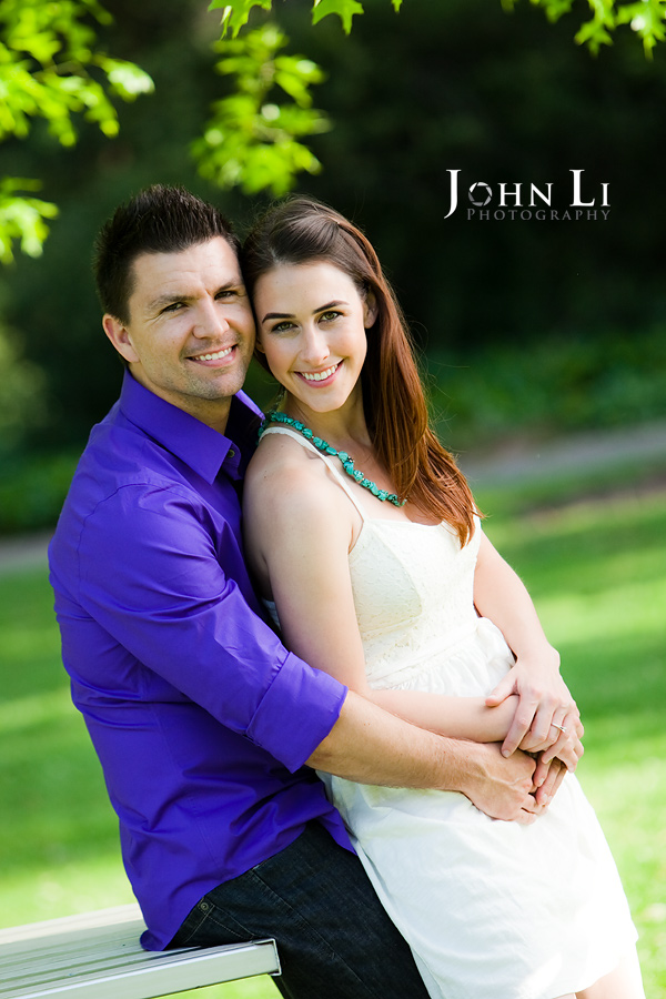 Lacy park engagement photography