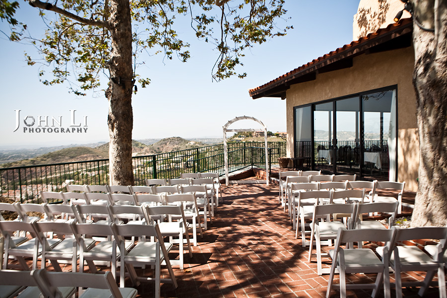 Orange Hill wedding ceremony site