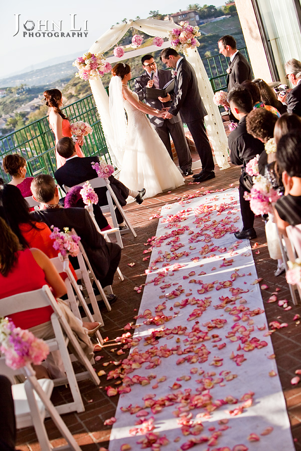 Orange Hill Wedding Ceremony