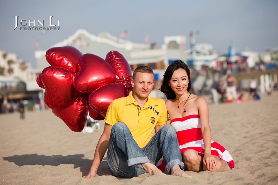 Santa-Monica-Beach-Engagement-pictures