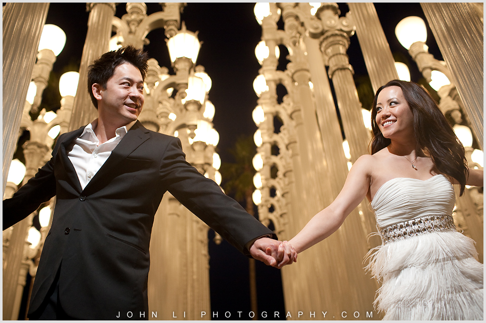 LACMA Engagement photos
