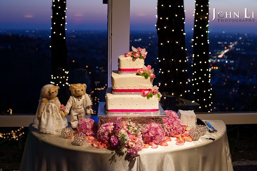 Wedding cake in orange hill Irvine