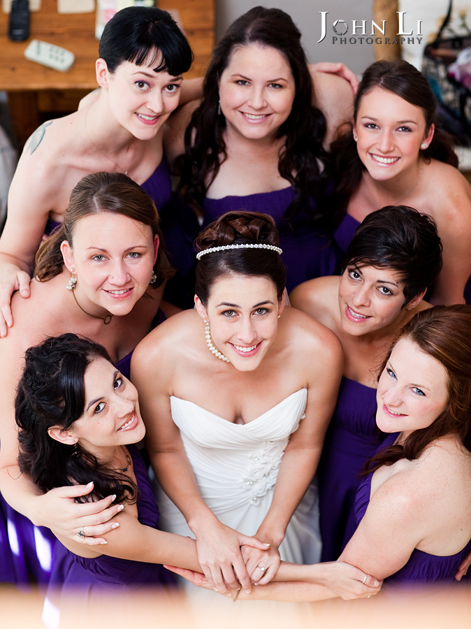 wedding photos group birde