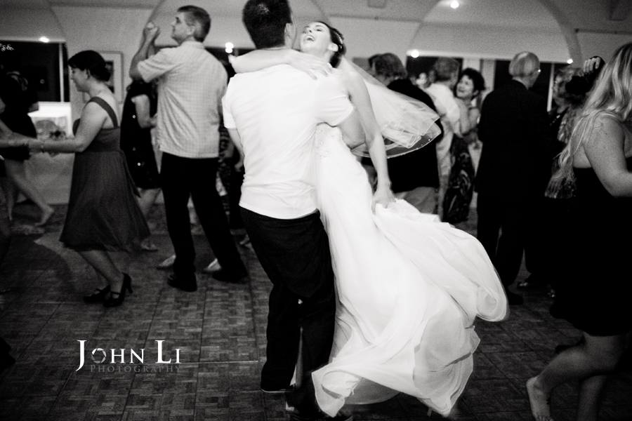 wedding dance in cabrillo pavilion arts center