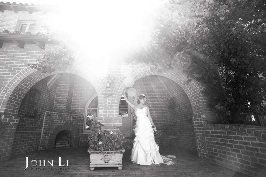 B & W wedding photography vista de oro