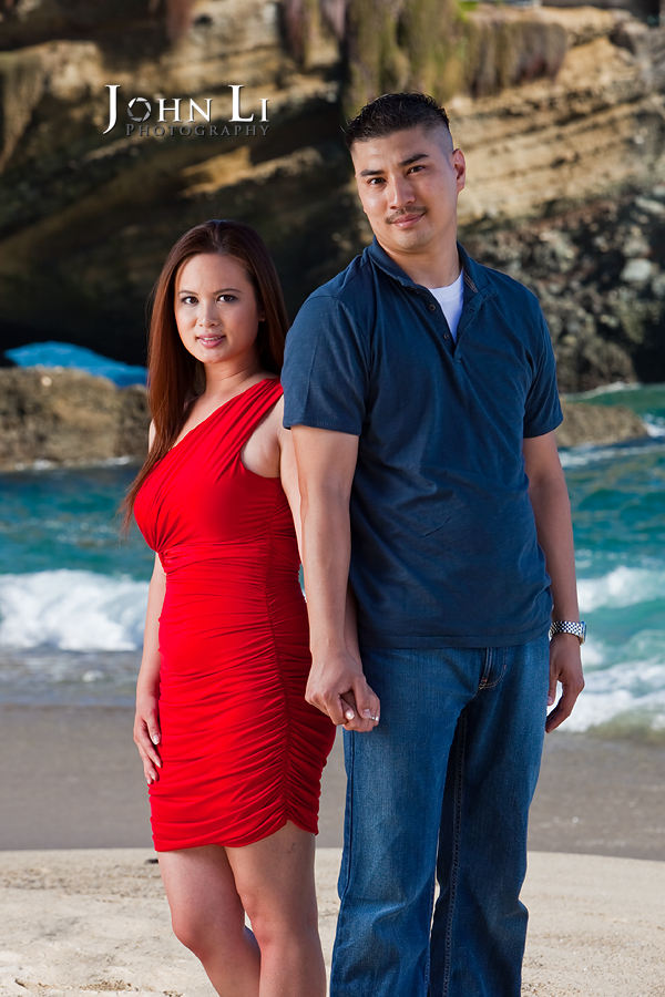 Laguna Beach engagement photos