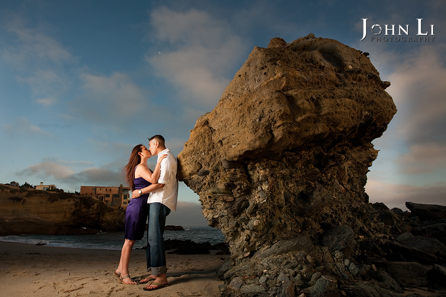 Laguna Beach wedding engagement