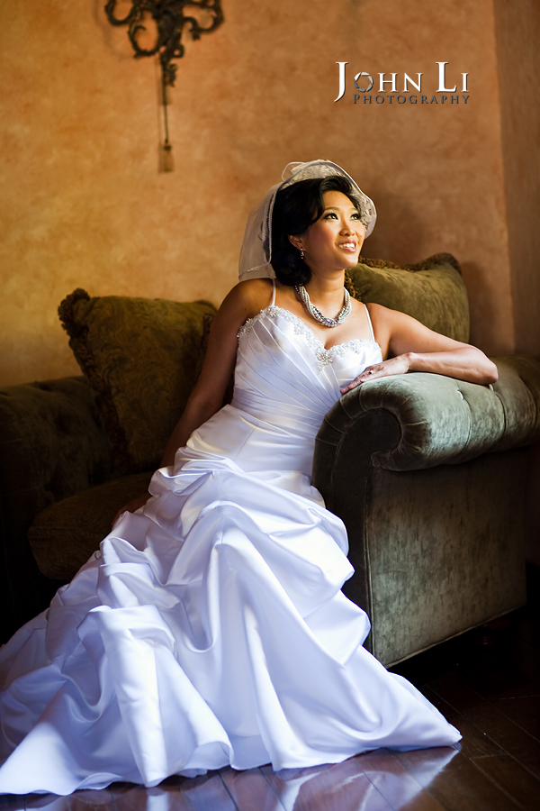 bridal portairt in vista de oro