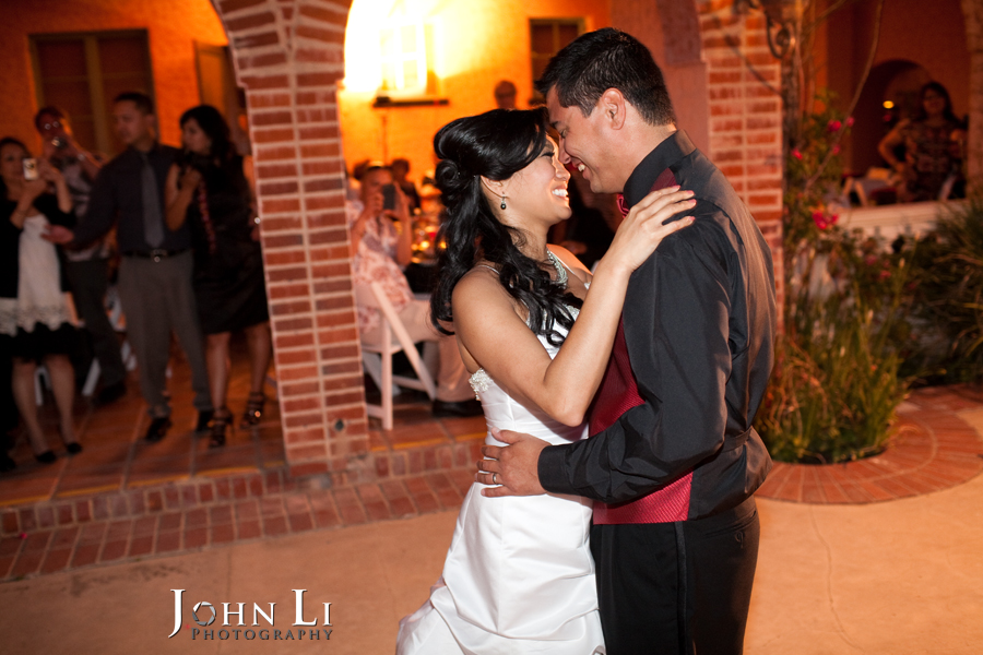 first dance vista de oro wedding