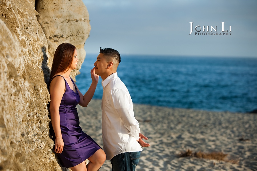 orange county engagement photos