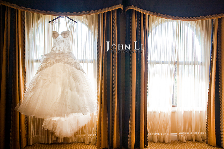 01 wedding dress in Langham hotel