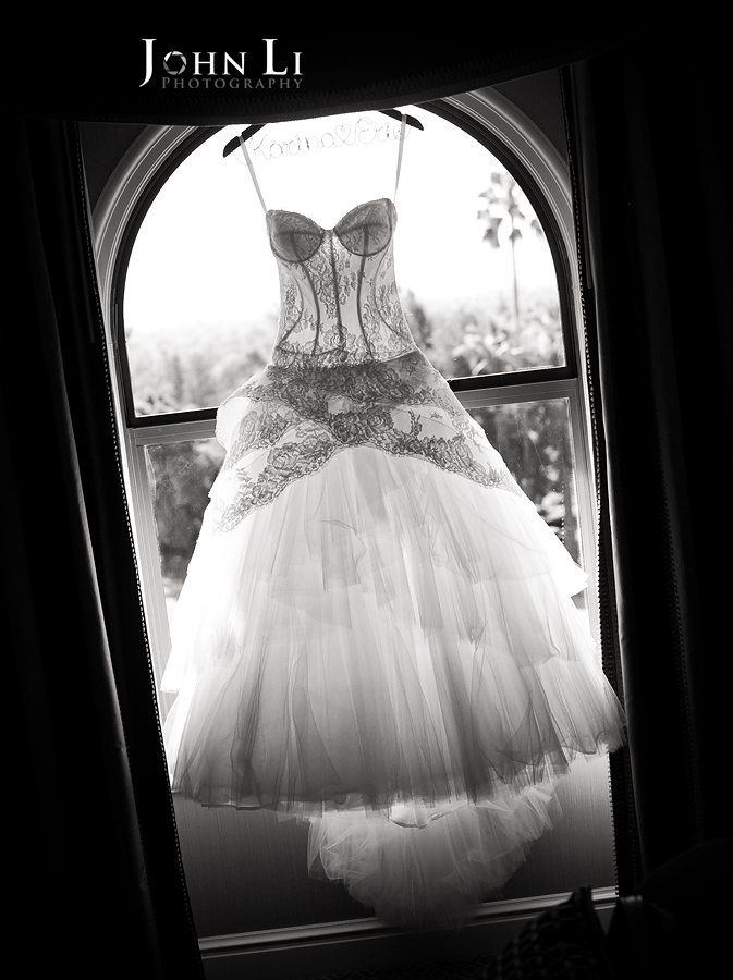 02 wedding gown in Langham pasadena