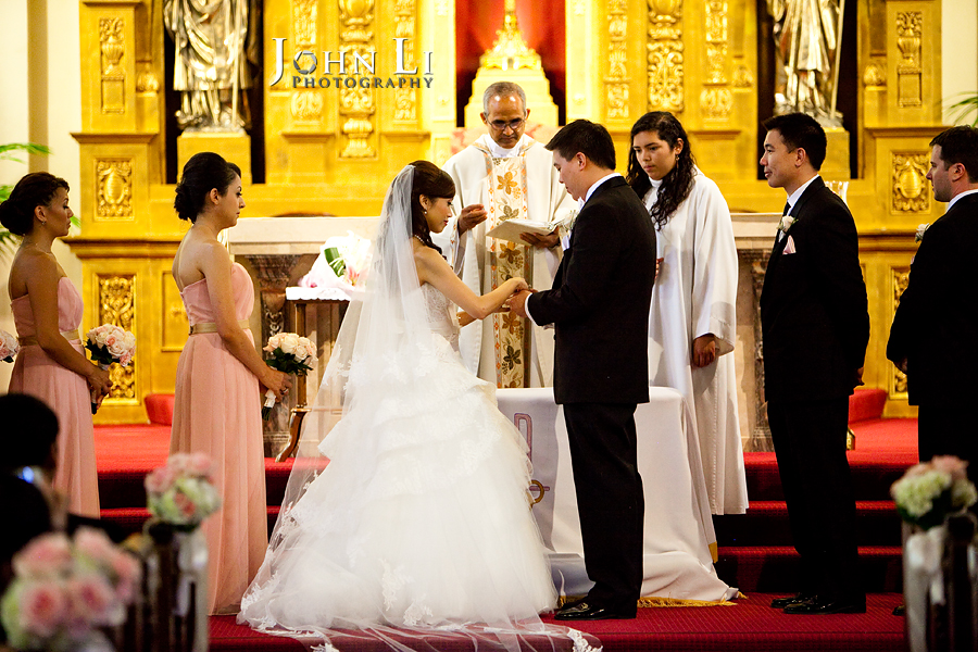 25 Holy Family Church South Pasadena wedding ceremony - Family Wedding Ceremony