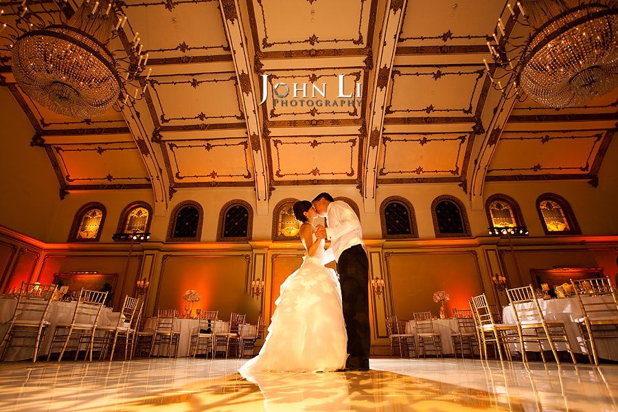 irst dance in Langham Hotel wedding