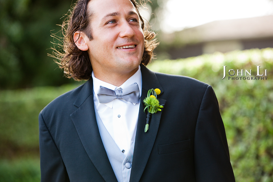 Limoneira Ranch Wedding groom portrait