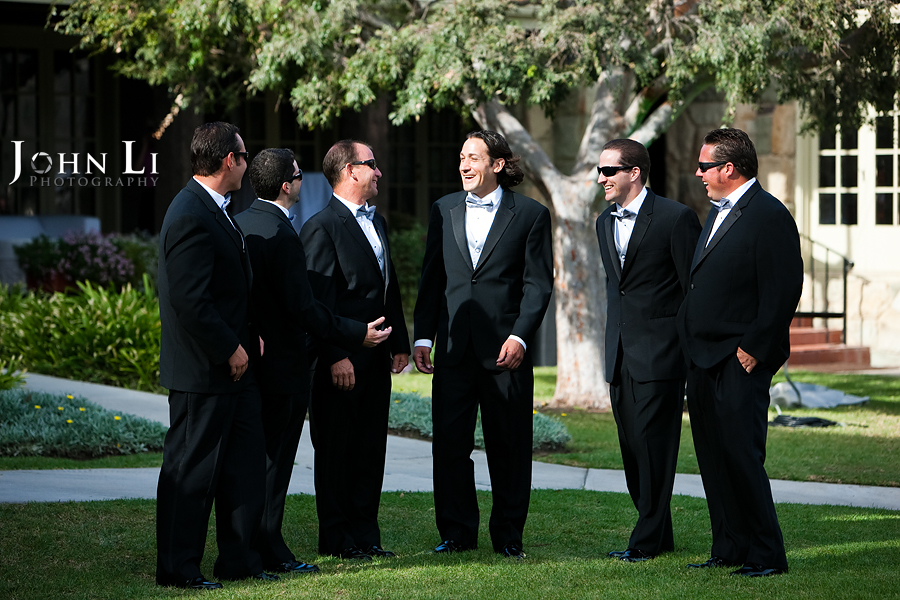 Limoneira Ranch Wedding groommen group photos