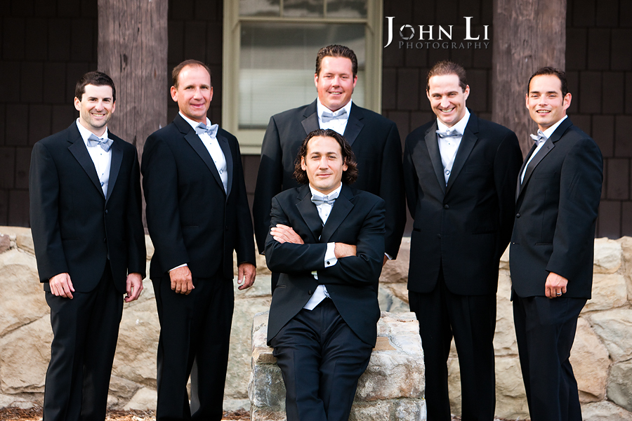 Limoneira Ranch Wedding groommen group pictures