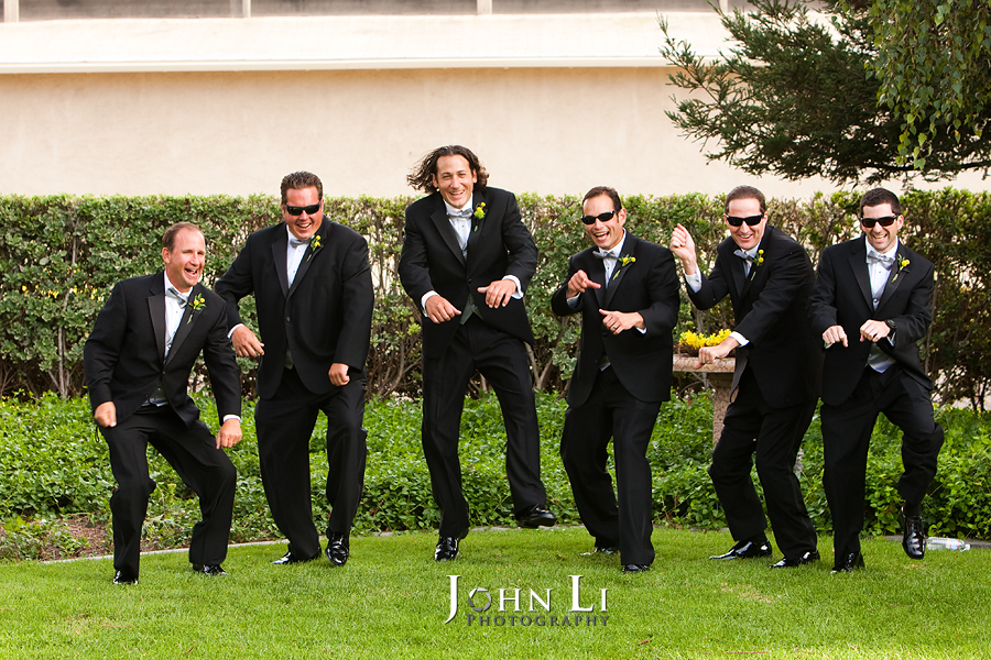 Limoneira Ranch Wedding photography groommen group dance