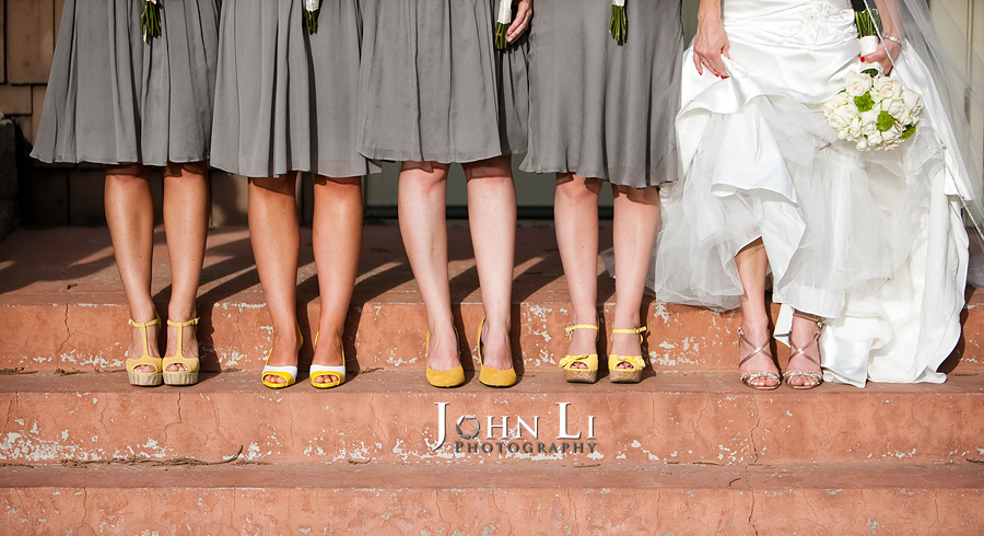 Limoneira Ranch Wedding shoes photo