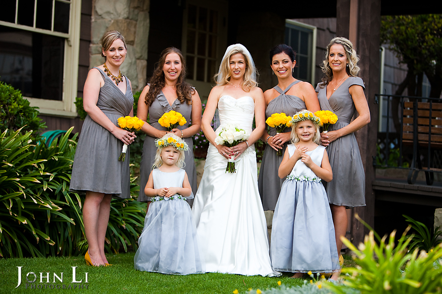 Limoneira Ranch Wedding party group photos