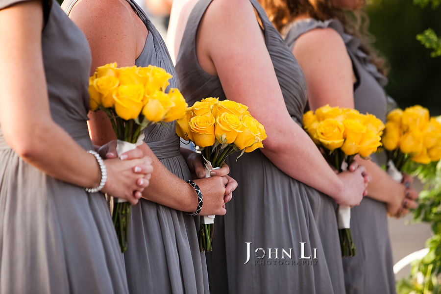 Limoneira Ranch Wedding ceremony flowers