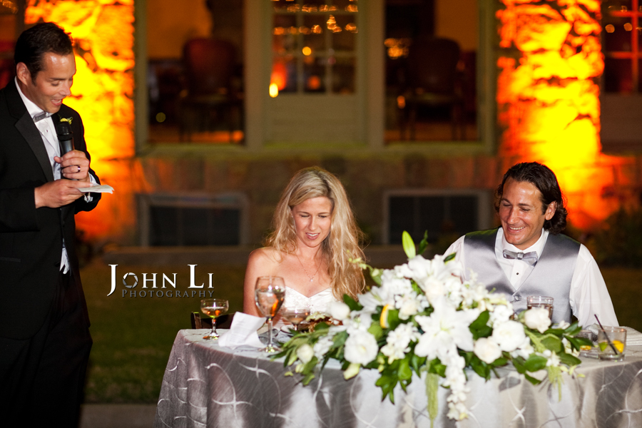 Limoneira Ranch Wedding reception speech