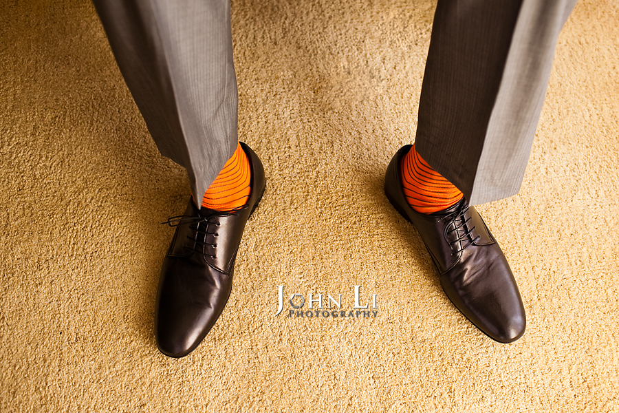 Hawaii wedding photography groom's shoes