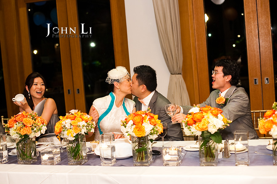 kiss Sheraton wedding reception in Maui Hawaii