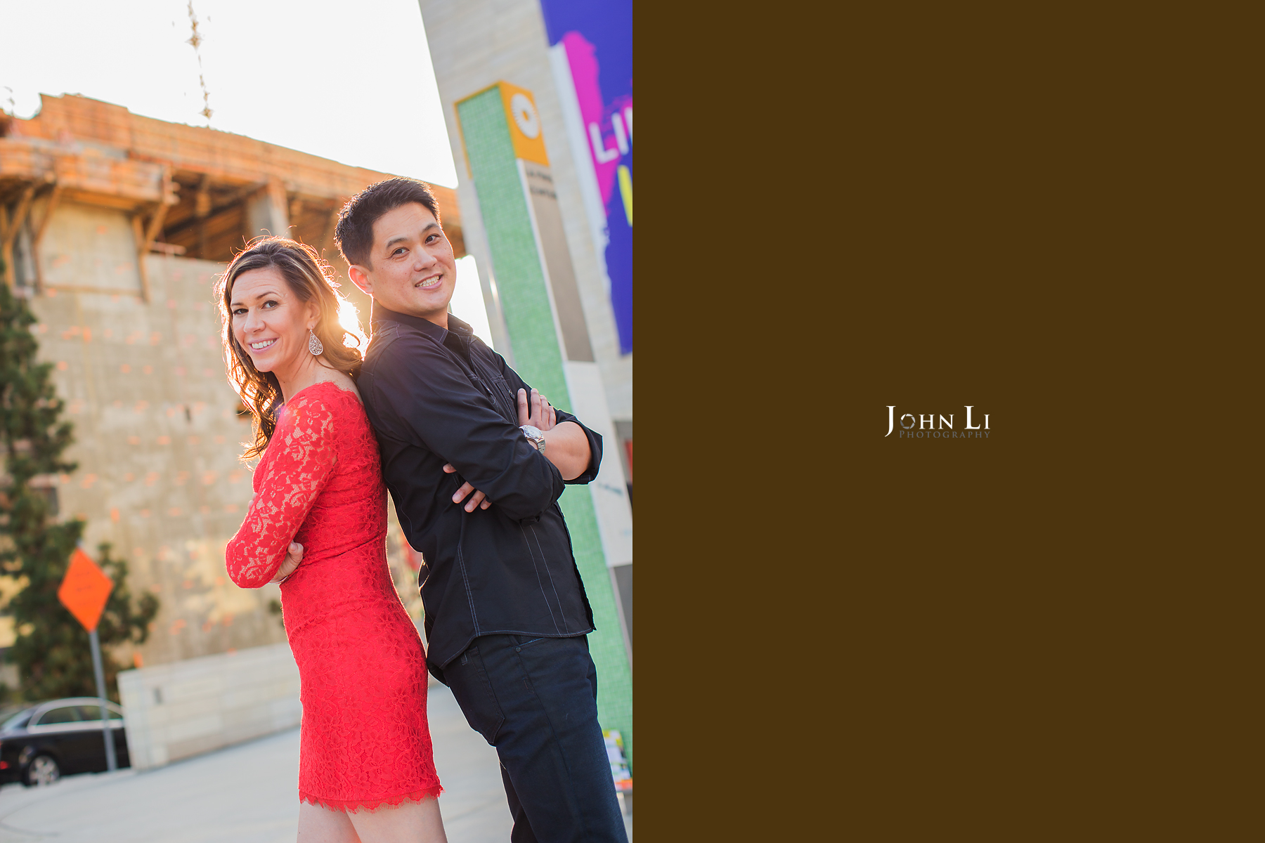 Los Angeles Downtown Engagement
