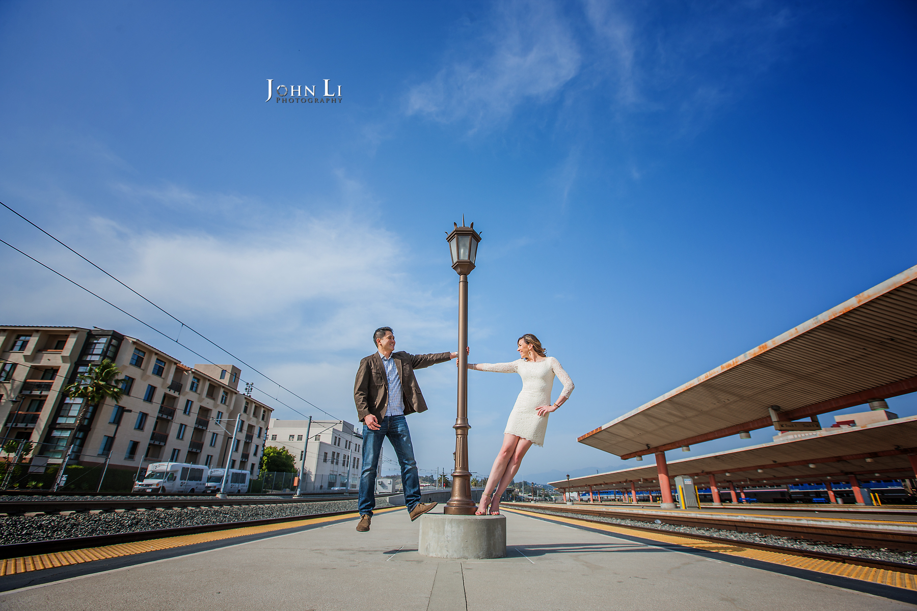 Union Station Engagement pictures