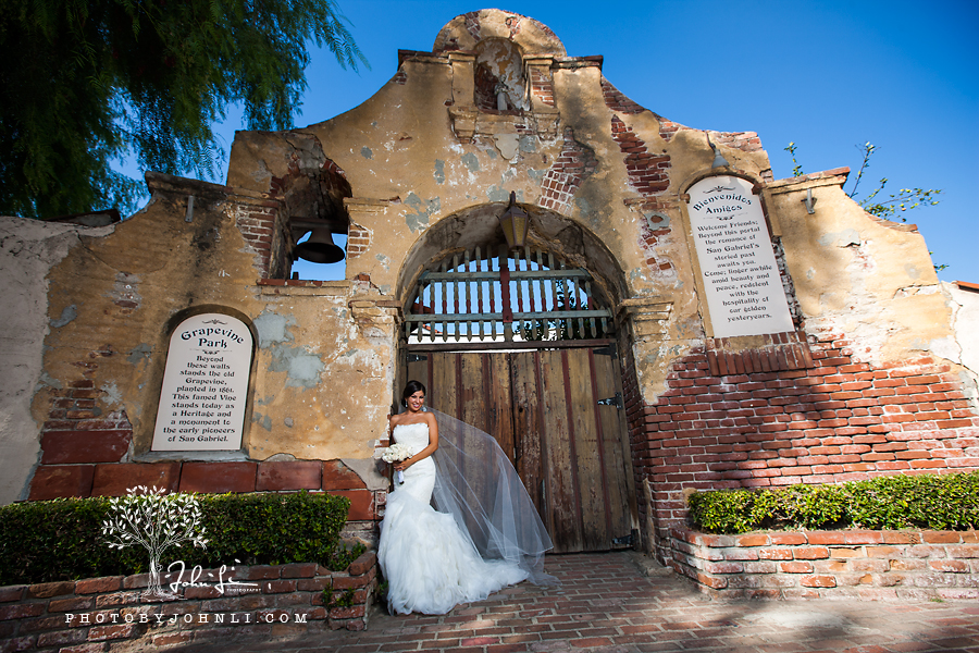 24 San Gabriel Mission Wedding Photography