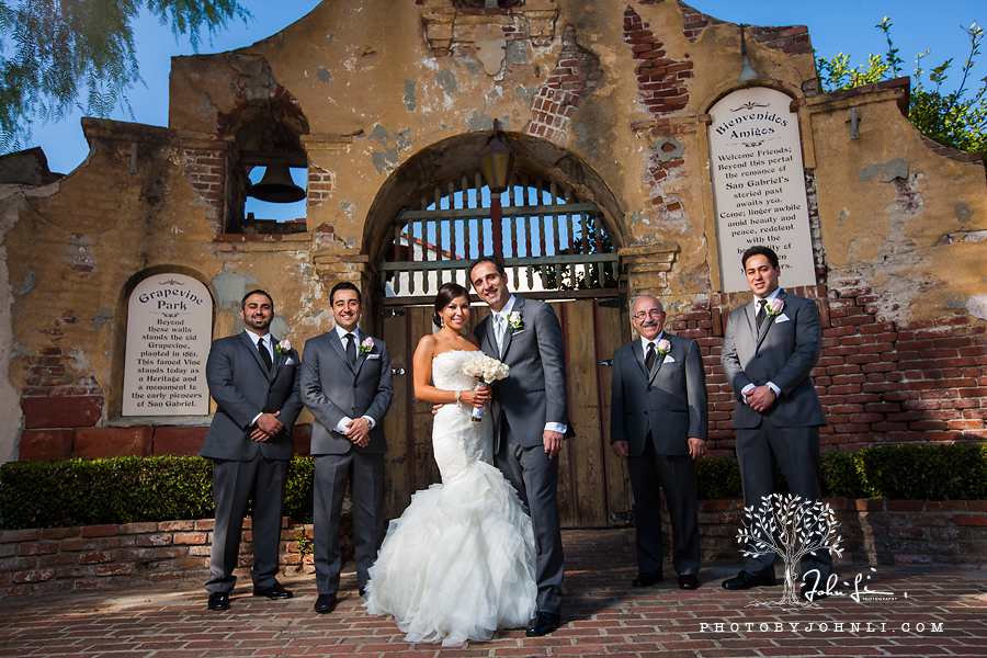 28 San Gabriel Mission Wedding Photography