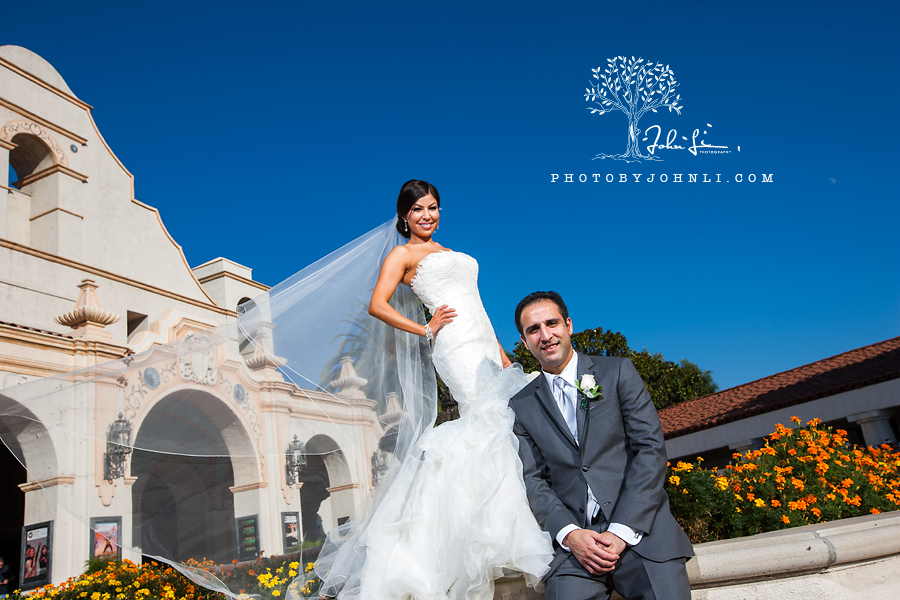 31 San Gabriel Mission Wedding Photography