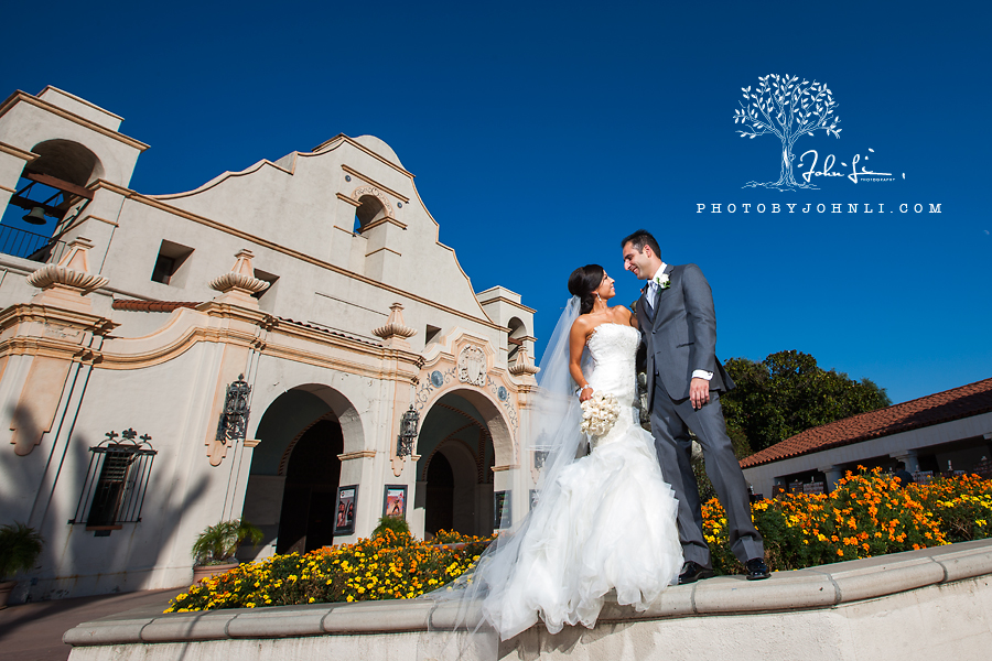 32 San Gabriel Mission Wedding Photography