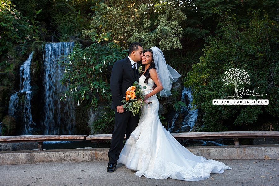 012 Los Angeles County Arboretum and Botanic Garden wedding