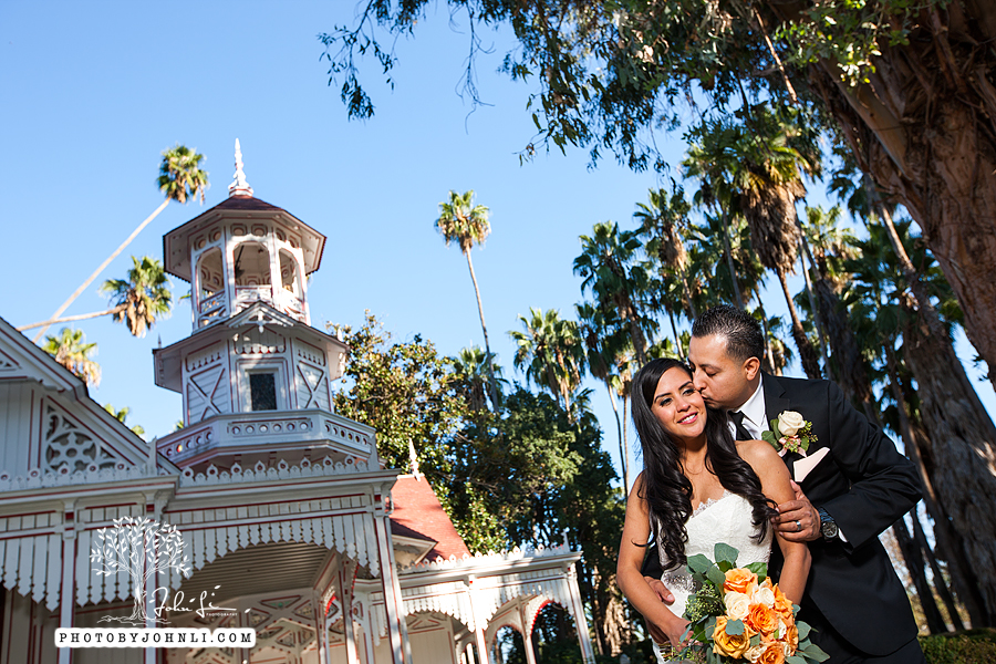 015 Los Angeles County Arboretum and Botanic Garden wedding