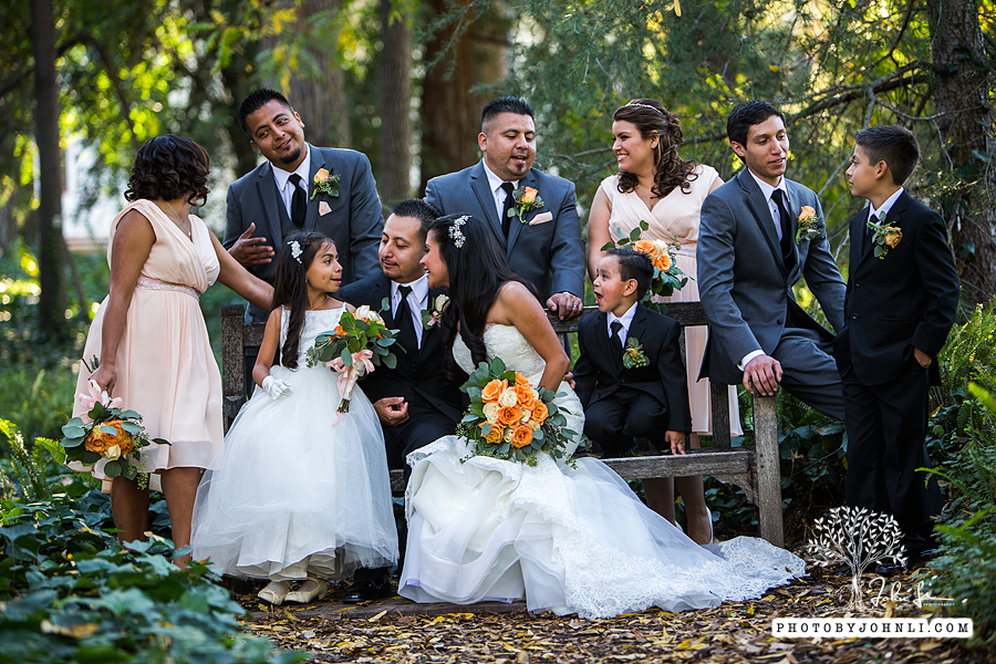 020 Los Angeles County Arboretum and Botanic Garden wedding