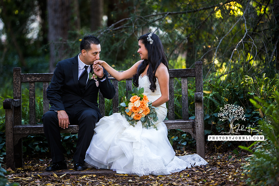 021 Los Angeles County Arboretum and Botanic Garden wedding
